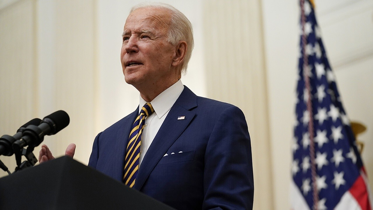 President Joe Biden delivers remarks on infrastructure in La Crosse, Wisconsin