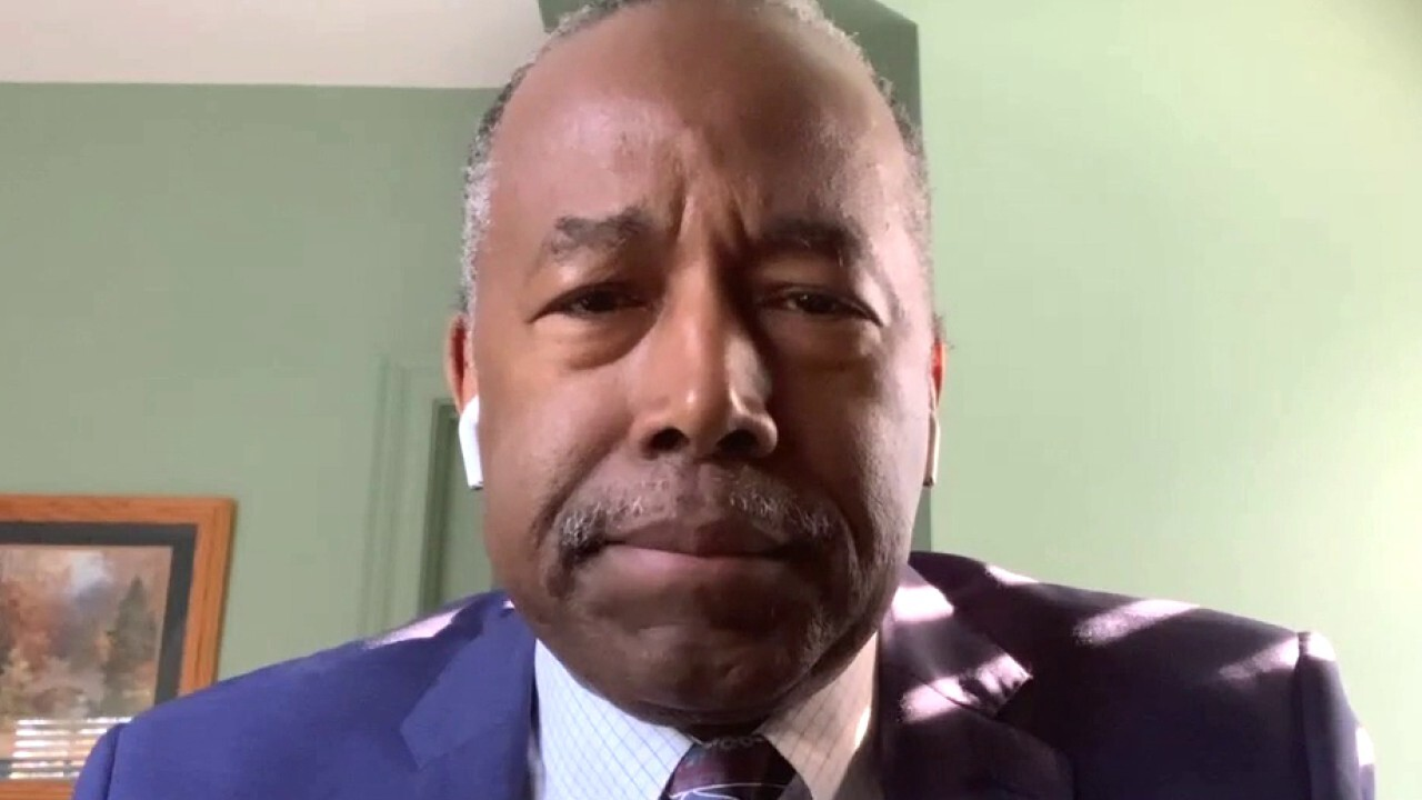 Former Secretary of Housing and Urban Development Dr. Ben Carson criticizes the federal eviction moratorium for its negative impact on the economy.