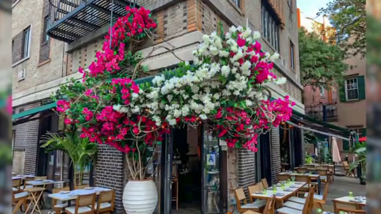 Carlos Franqui, founder and creative director of Floratorium floral studio, explains how New York City restaurants are utilizing his business to bring back diners.