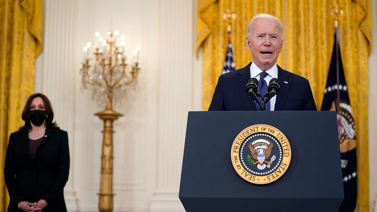 Biden trying to use infrastructure bill to 'please his radical wing': Rep. Babin