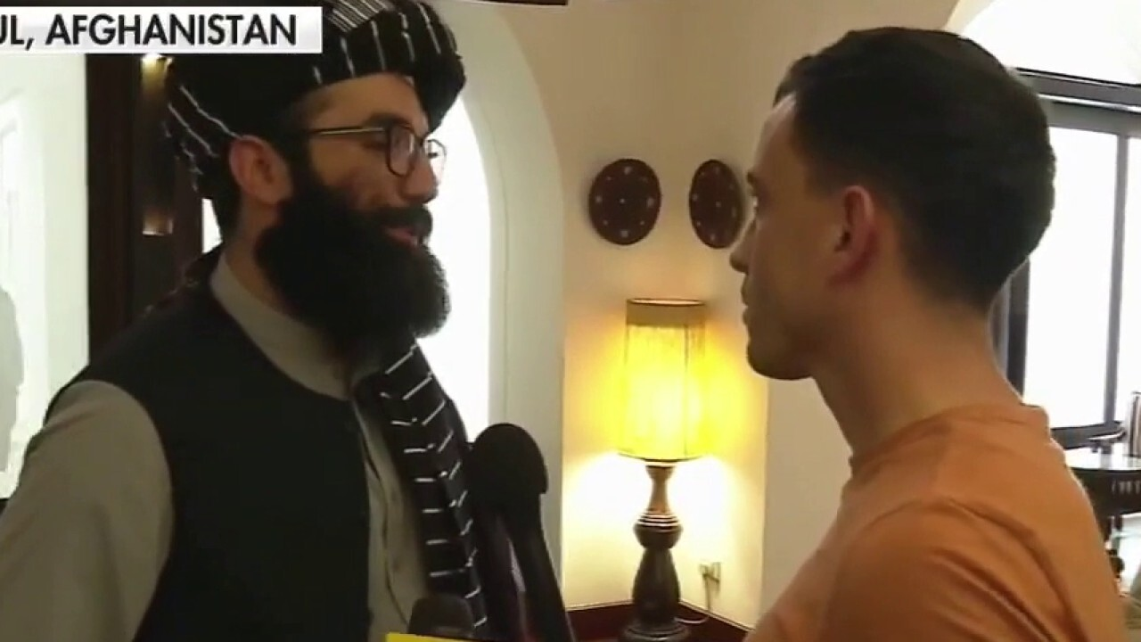 Fox News' Trey Yingst interviews top Taliban official on Afghanistan exit