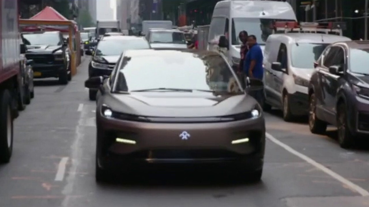 Faraday Future begins public trading, looks to beat out luxury electric vehicle competition