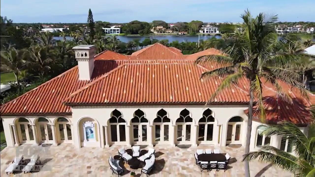 'Mansion Global' tours Manalapan's $29 million Italian villa on the market.