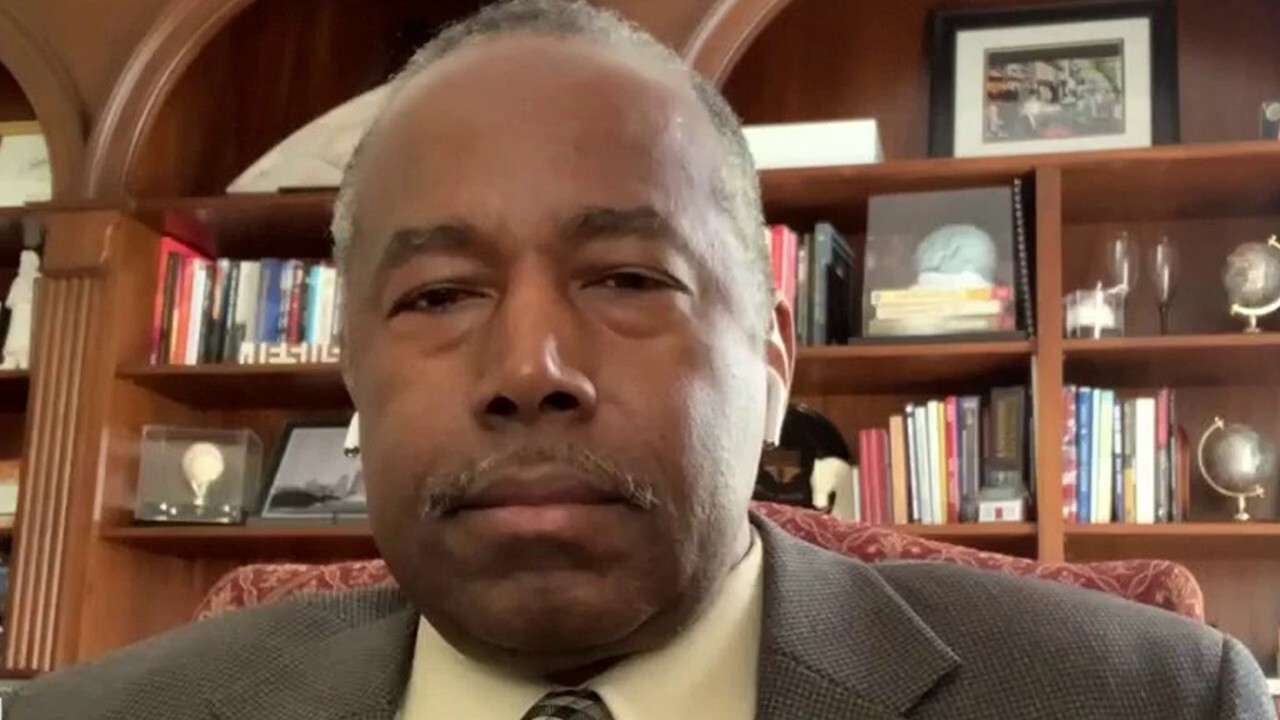 Ben Carson: Justice system isn't perfect but Chauvin guilty verdict shows it works