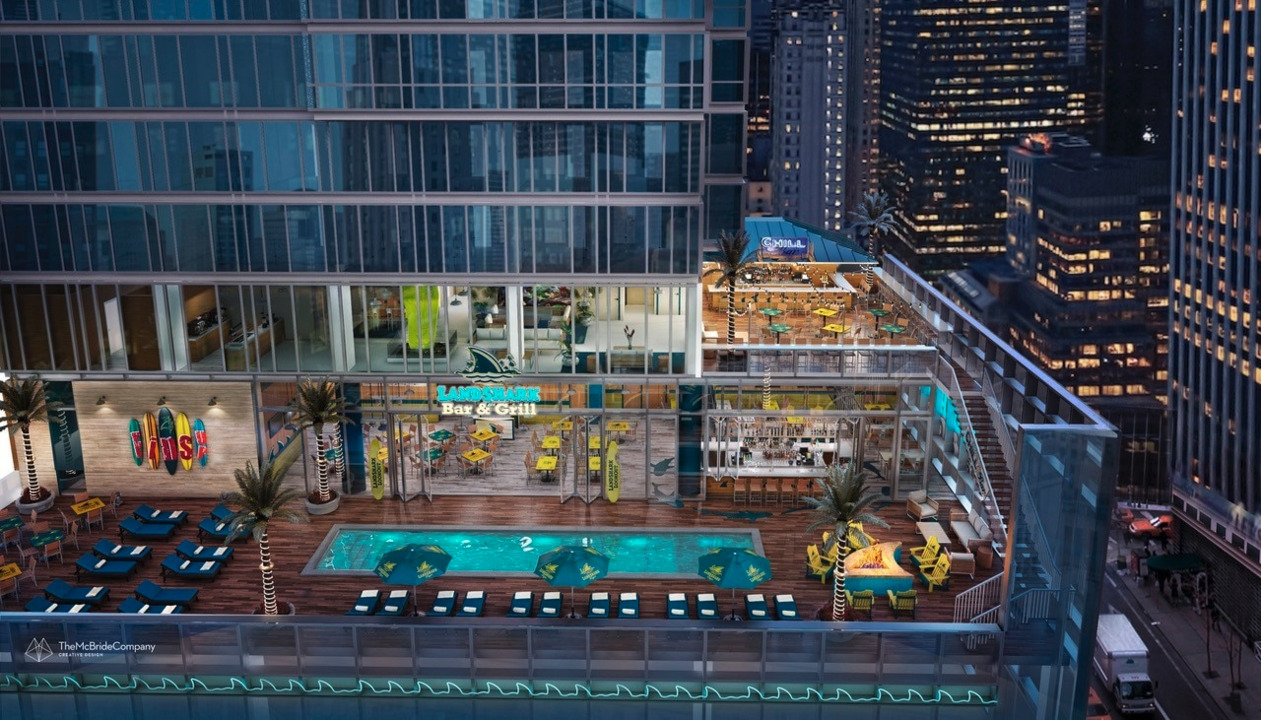 Margaritaville CEO John Cohlan discusses why his company chose to open a location in Times Square, New York City.
