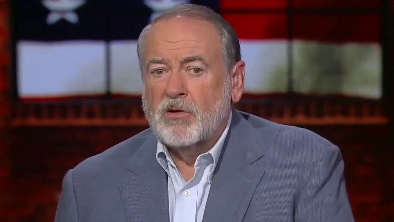 Former Arkansas Gov. Mike Huckabee says Biden is 'done' as president if media coverage expands on his leaked phone call with the former Afghan president.