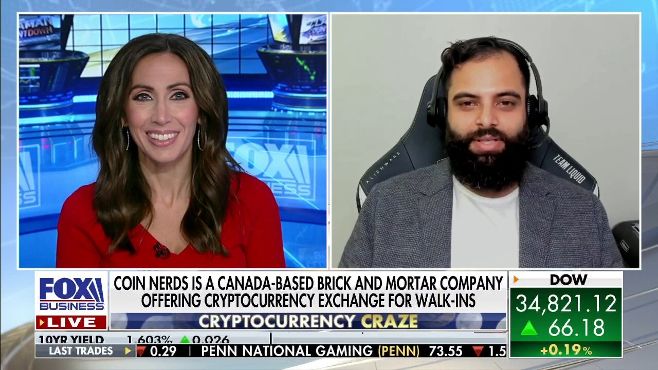 Canada-based Coin Nerds CEO Adam Hack joined 'The Claman Countdown' to discuss his in-person cryptocurrency exchange and Bitcoin's projected value.