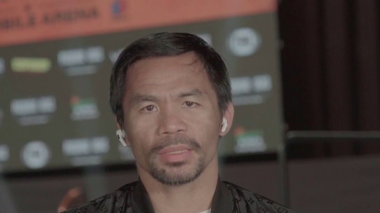 Charlie Gasparino discusses his interview with Pacquiao, the significance of this championship and Pacquiao's involvement in politics on 'The Claman Countdown'