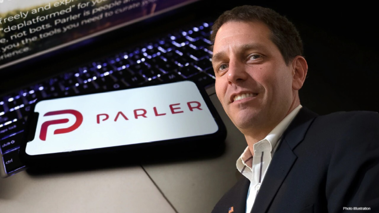 Parler Interim CEO Mark Meckler discusses getting the social media app back online and says he would welcome both former President Trump and President Biden on the platform.