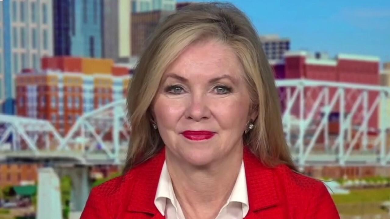 Tennessee Senator Marsha Blackburn discusses the cost of the Democrats' infrastructure bill on 'Kudlow'