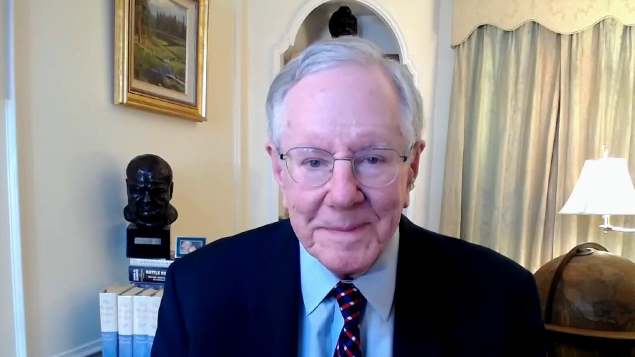 Steve Forbes: COVID-19 vaccine 'greatest achievement' since WWII