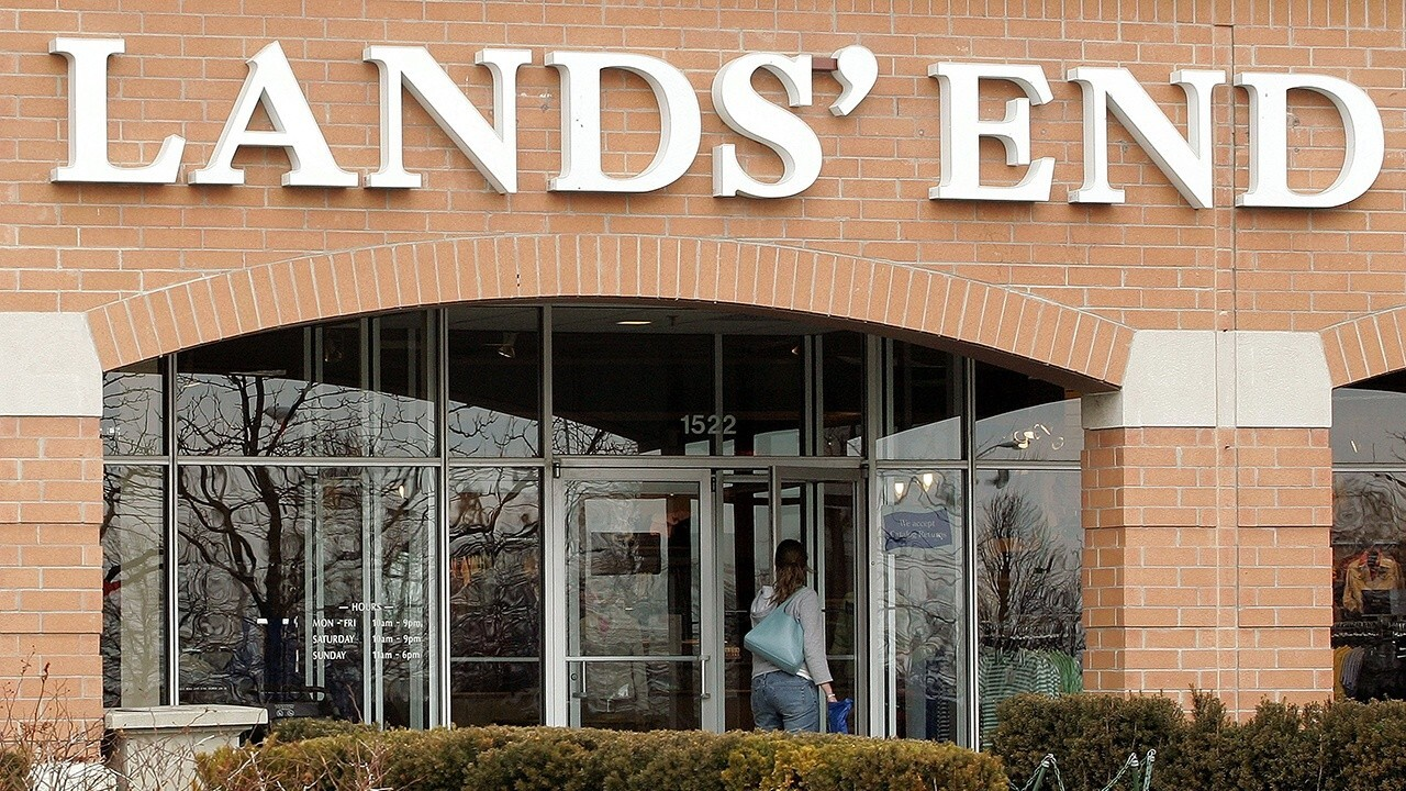 Lands' End CEO Jerome Griffith discusses online retail and how the company will perform as the U.S. tries to get back to normal.
