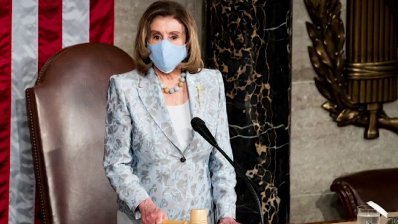 Pelosi fines multiple GOP lawmakers for not wearing masks