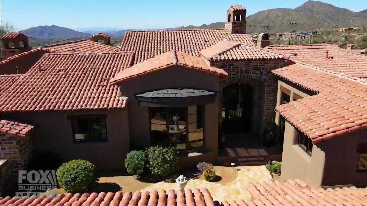 'Mansion Global' explores Arizona's desert-set, 8.766 square foot Scottsdale estate.
