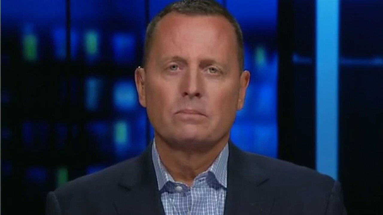 Former Acting Director of National Intelligence Ric Grenell on State Secretary Antony Blinken's role in the Afghanistan withdrawal.