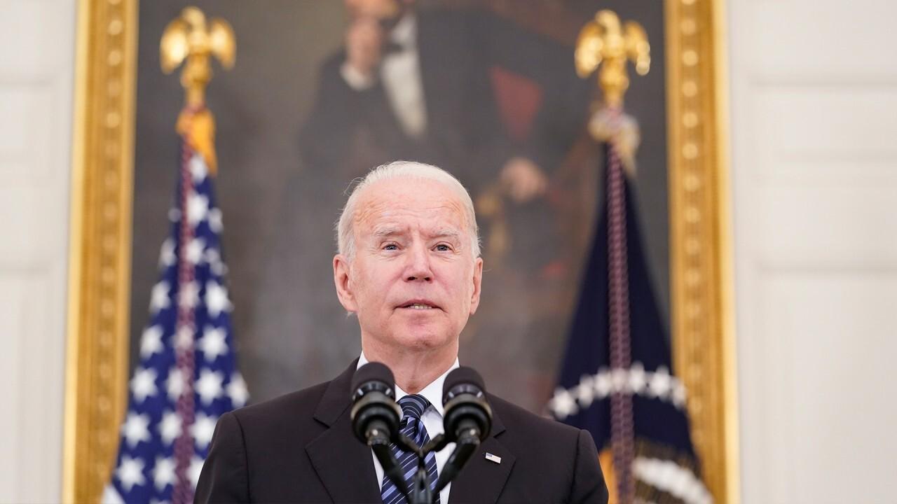 Fox News' Hillary Vaughn reports on Biden's latest proposal surrounding firearms on 'Fox Business Tonight'