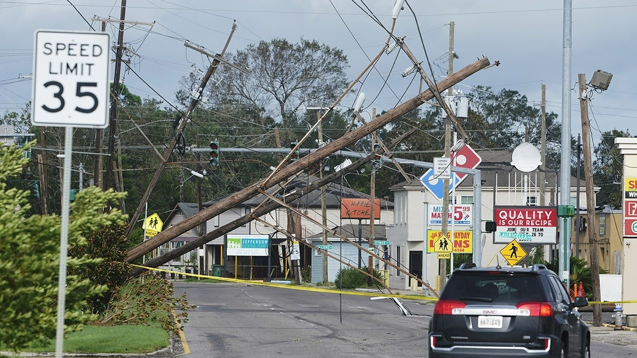 Rep. Garrett Graves, R-La., on the aftermath of Hurricane Ida and the recovery process after the storm leaves residents without power and gas.