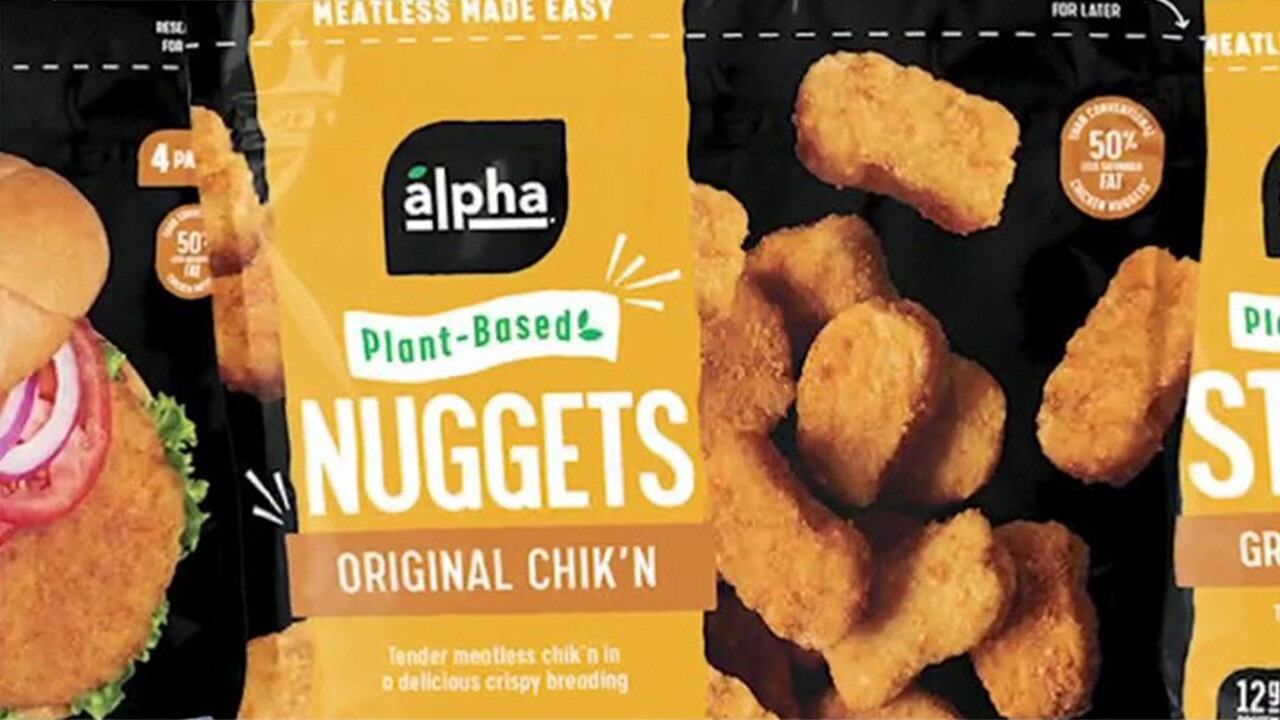 Alpha Foods hopes its vegan nuggets will benefit from rising cost of chicken, CEO says