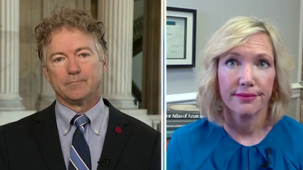 Sen. Rand Paul, R-Ky., and his wife Kelley discuss the suspicious package, filled with white powder and bearing an image threatening violence, which arrived to their Kentucky home.