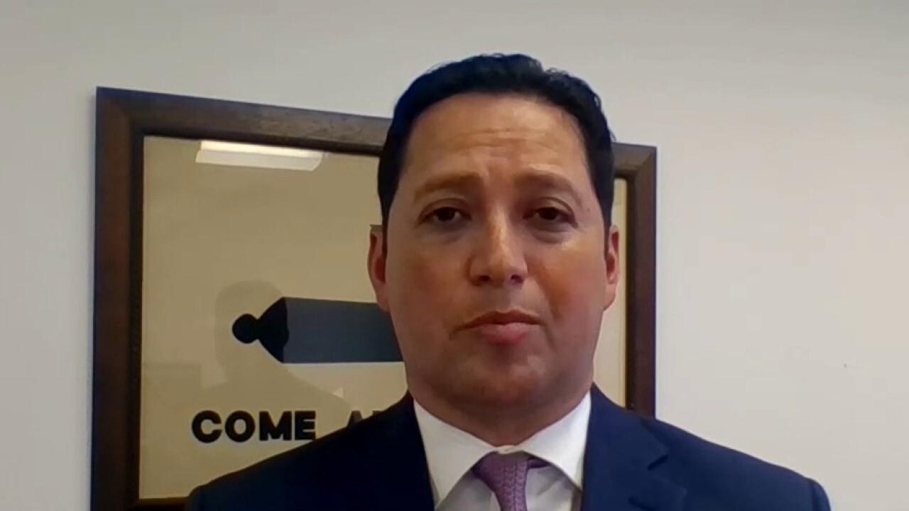 Rep. Tony Gonzales slams Vice President Harris' handling of the border crisis