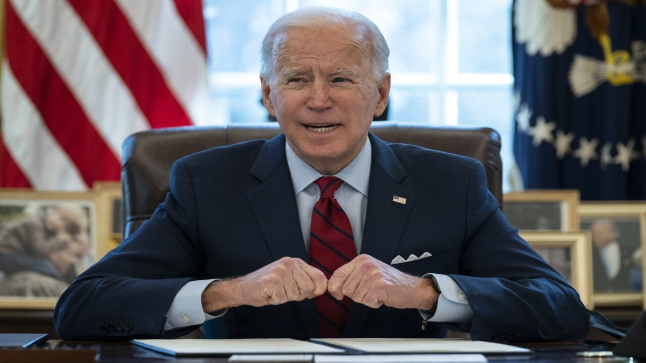 American Petroleum Institute CEO Mike Sommers points out the 'irony' of Biden's energy actions, arguing 'it sets this country back, particularly from an environmental perspective.'