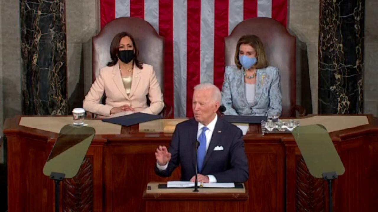 What Biden failed to mention in his address to Congress