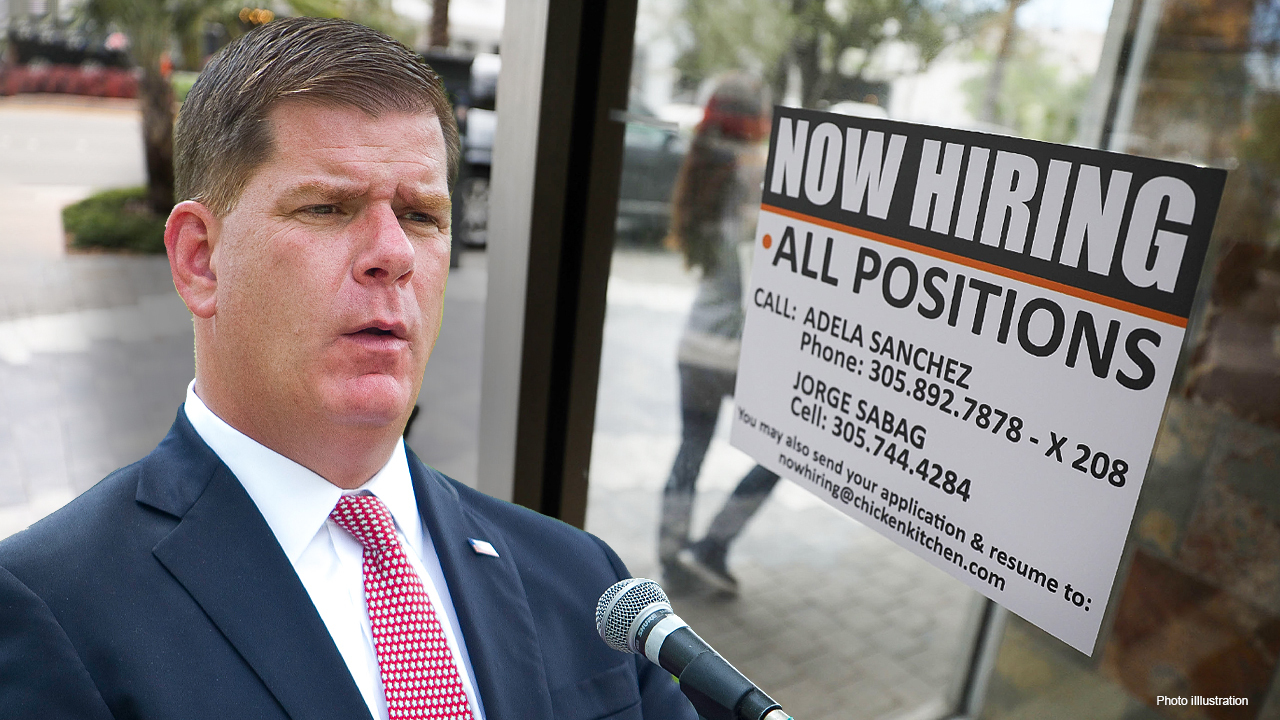 Labor Secretary Marty Walsh argued it's too early to have the conversation about extending or halting weekly federal unemployment benefits following the May jobs report.