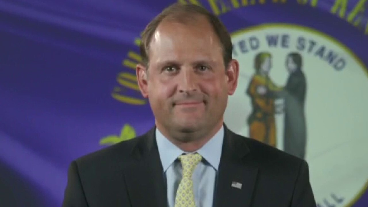 Rep. Andy Barr, R-Ky., discusses the economy during Biden's presidency and the job market in August on 'Kudlow'
