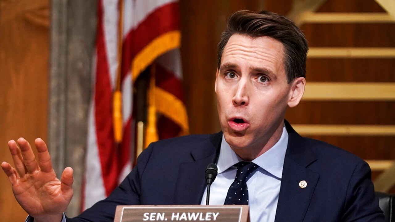 Sen. Josh Hawley, R-Mo., discusses breaking up Big Tech companies like Amazon and Google.
