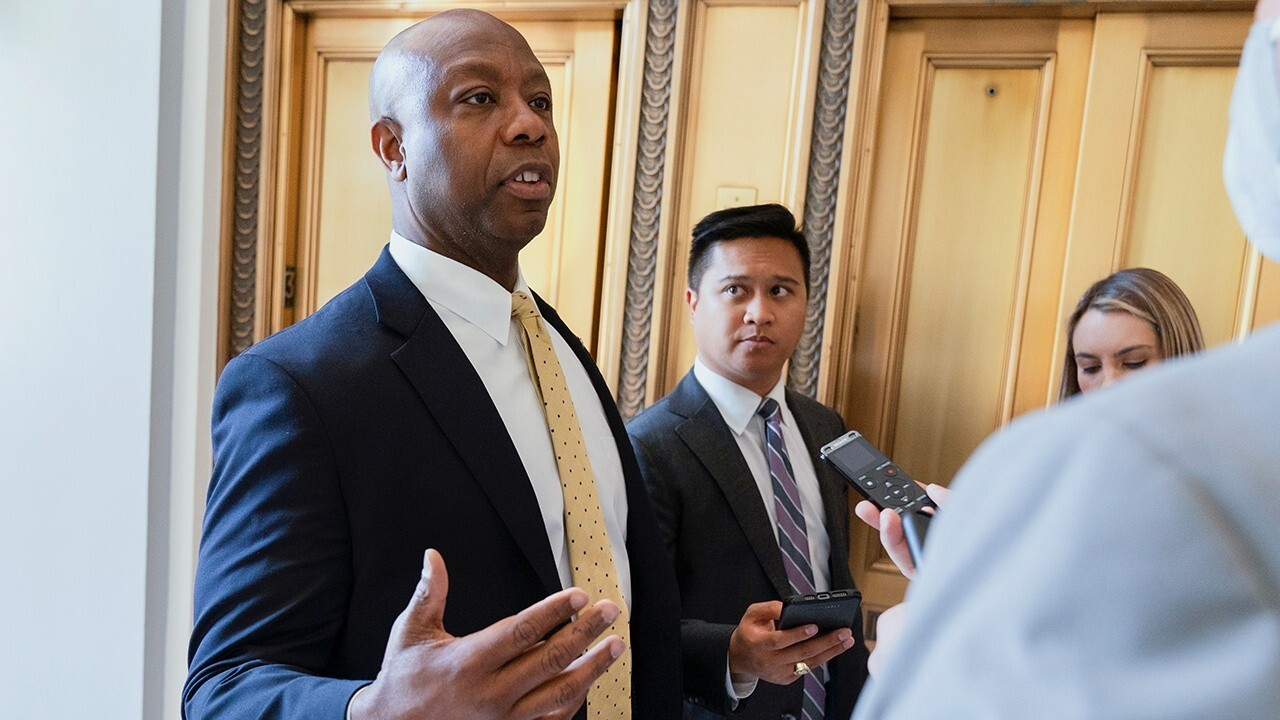 CEOs of the largest banks in the U.S. were left speechless Wednesday when Sen. Tim Scott, R-S.C., asked them about 'woke capitalism.'