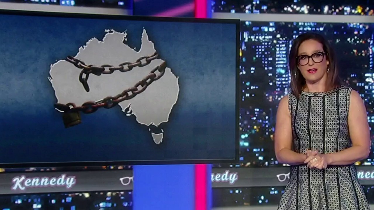 'Kennedy' host analyzes Australia's COVID stats amid new government imposed restrictions