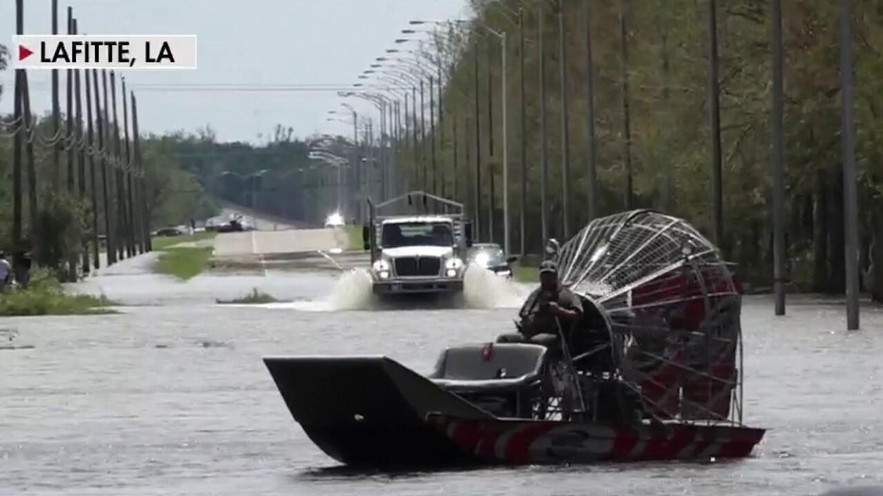 Rescue efforts underway after Hurricane Ida