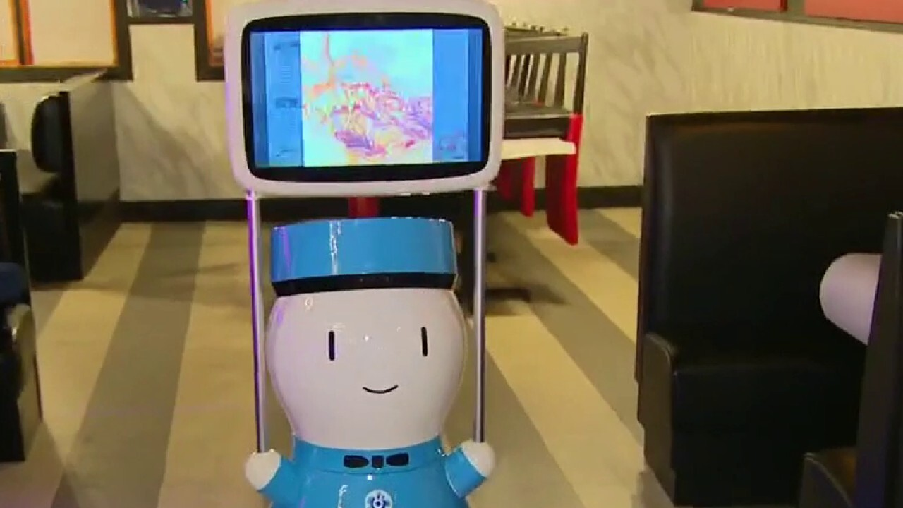 Restaurants look to robots to fill server shortage