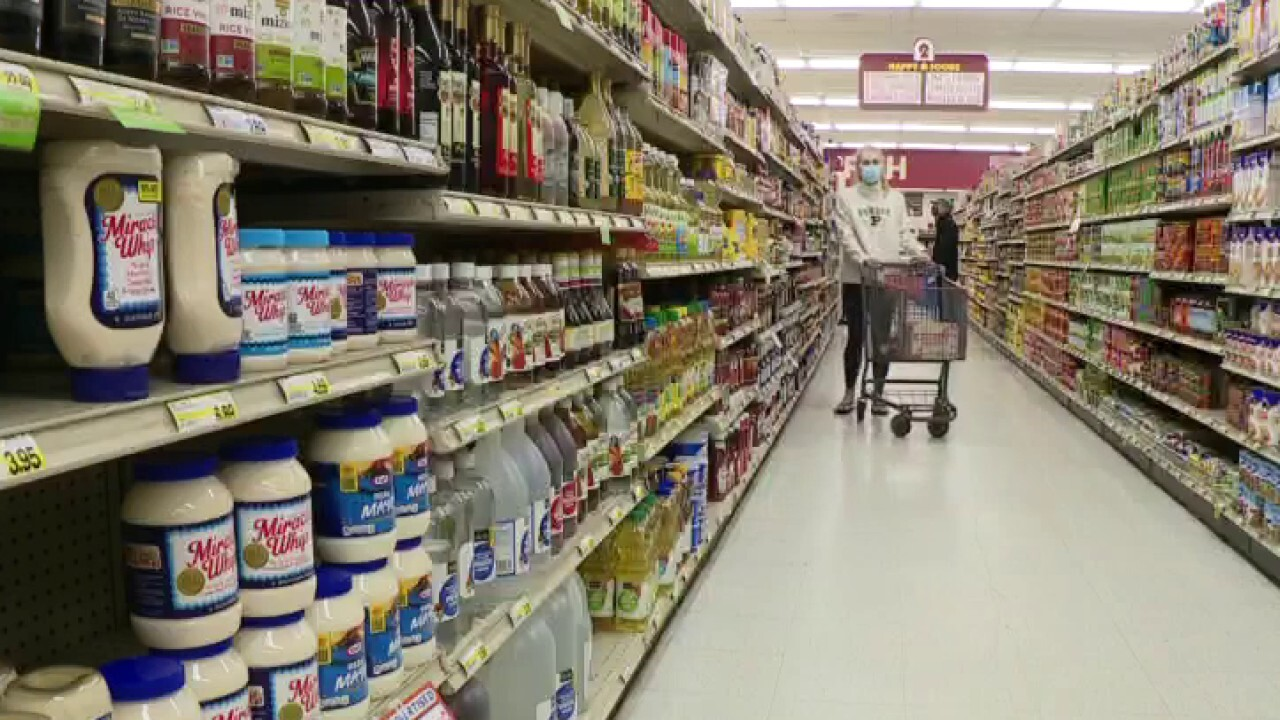 Consumer prices jump 5%, fastest pace in 13 years