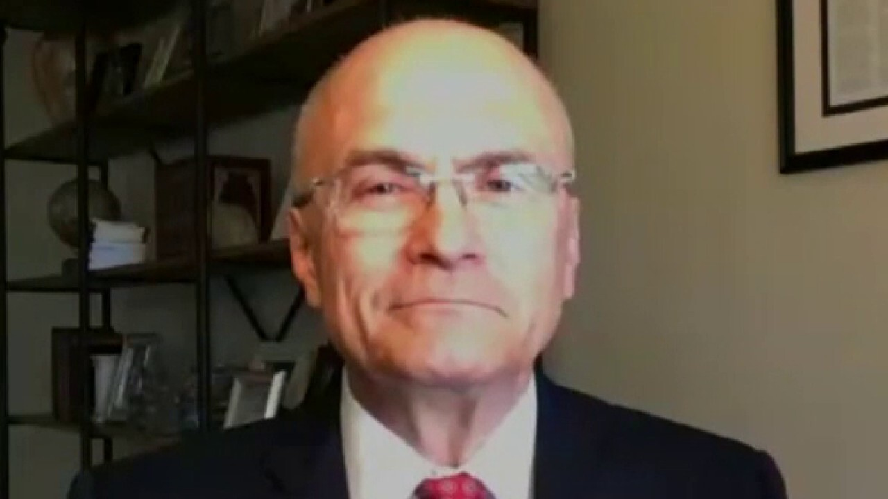 Former CKE Restaurants CEO Andy Puzder says the driving force of slow jobs growth is that unemployment benefits are 'paying people not to work.'