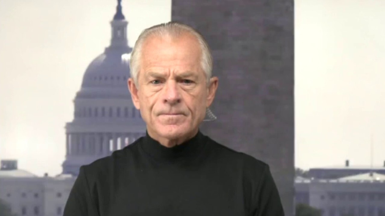 Former Trump Trade and Manufacturing Policy assistant Peter Navarro argues if China 'controls the digital universe' and 'also has the ability to basically hack that system, it controls everything.'