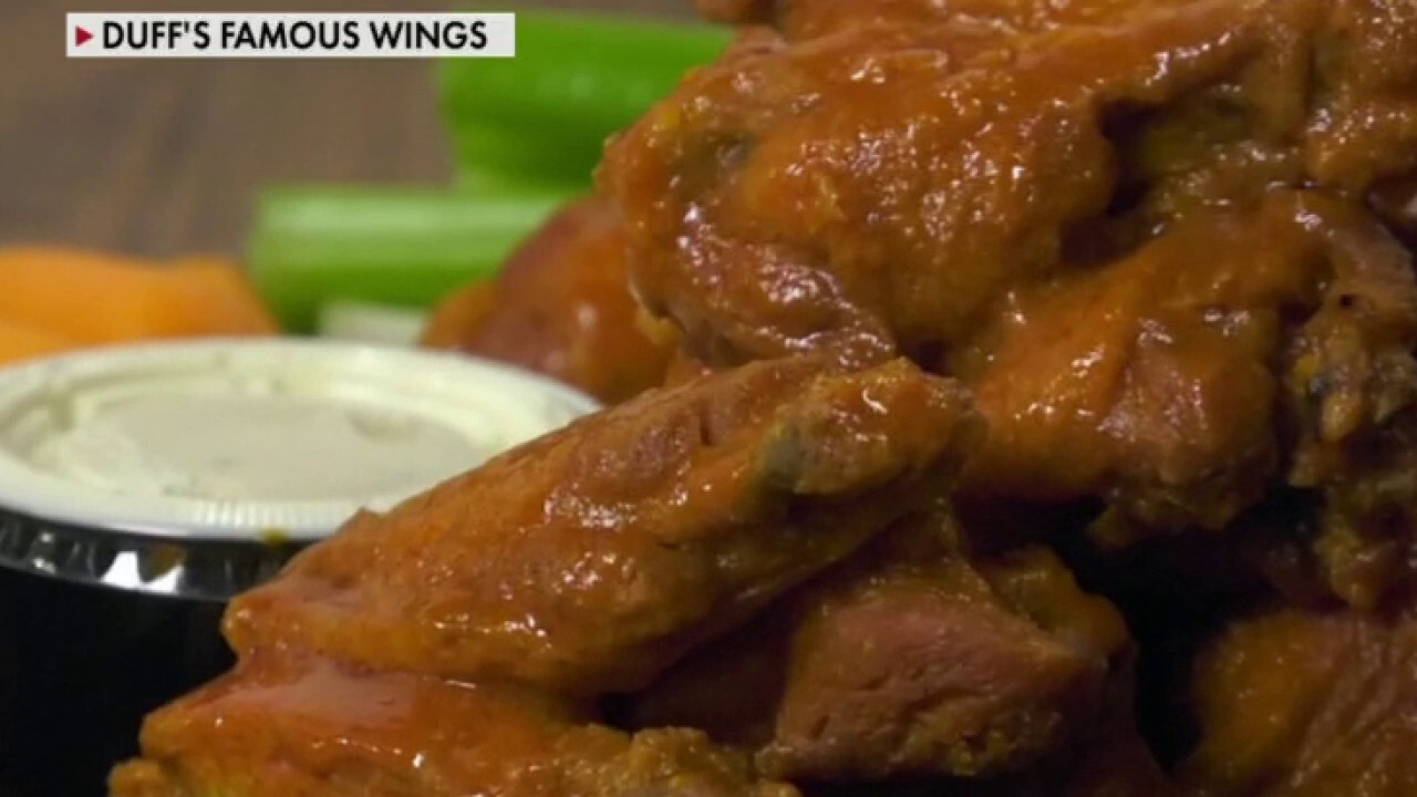 Greg Duell, the co-owner of Duff's Famous Wings in upstate New York, explains how the increased prices for chicken is affecting his business.