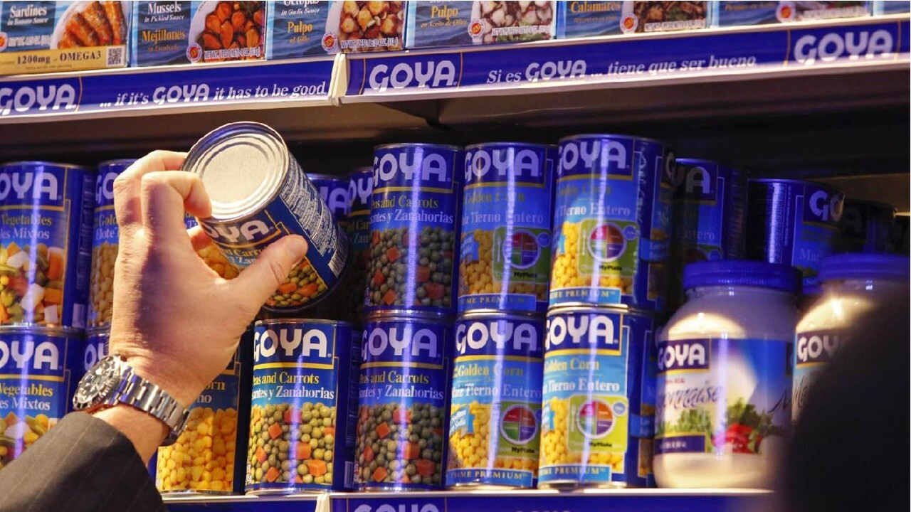 Goya CEO: Supply chain being taxed tremendously impacts food price surge