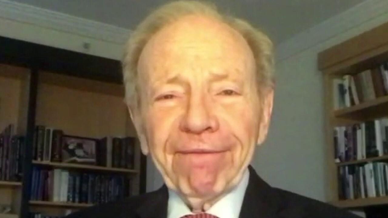 Former Connecticut Sen. Joe Lieberman argues Iran is his biggest concern about Biden foreign policy.