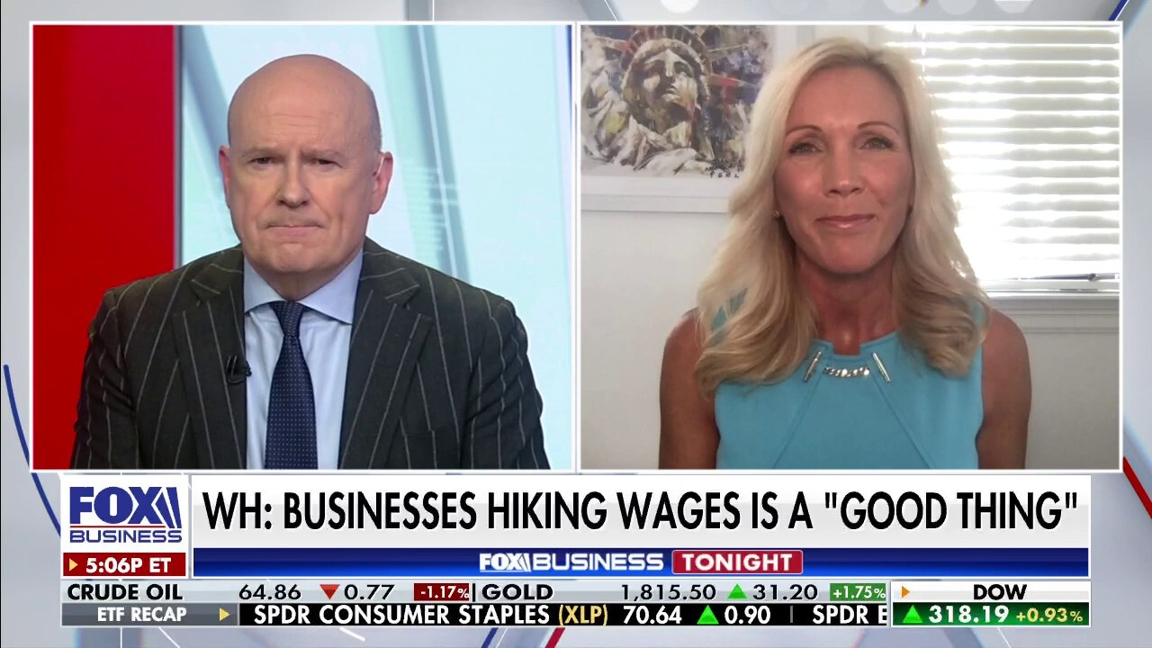 EmployBridge Chief Workforce Analyst Joanie Bily joins 'Fox Business Tonight' on how businesses are attracting new employees