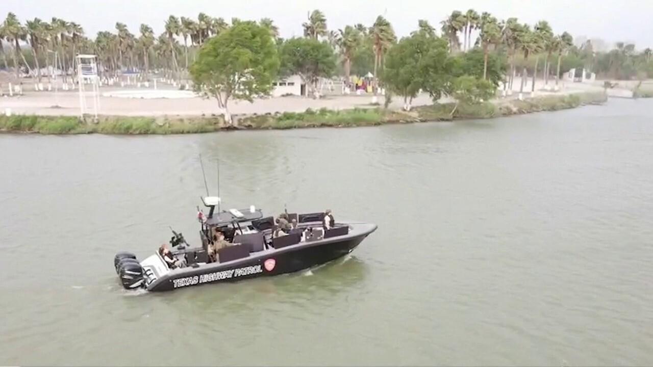 Maria Bartiromo, Texas AG tour dangerous banks of the Rio Grande
