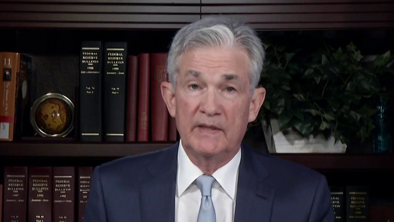 FOX Business' Edward Lawrence reports on Federal Reserve Chairman Jerome Powell's statements indicating the Fed is taking the first step to potentially issue a U.S. digital currency.
