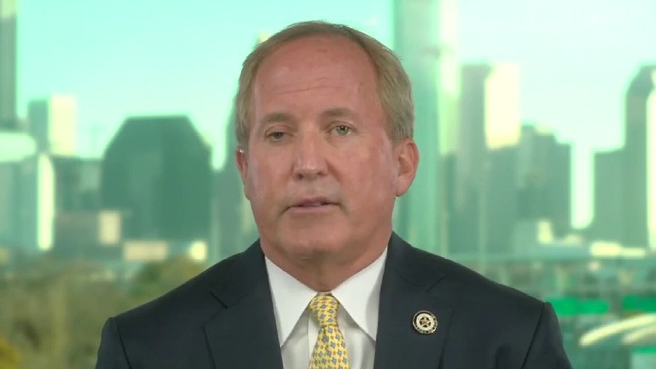 Texas attorney general calls Biden a 'superspreader of COVID'