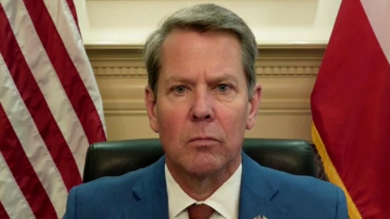 Georgia Gov. Kemp on gas shortage