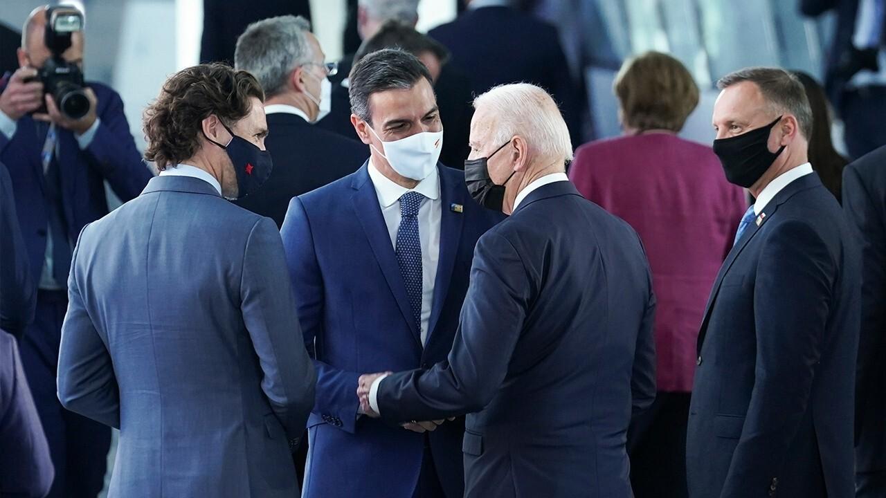 Biden, NATO members being 'polite,' instead of being leaders: Charlie Hurt