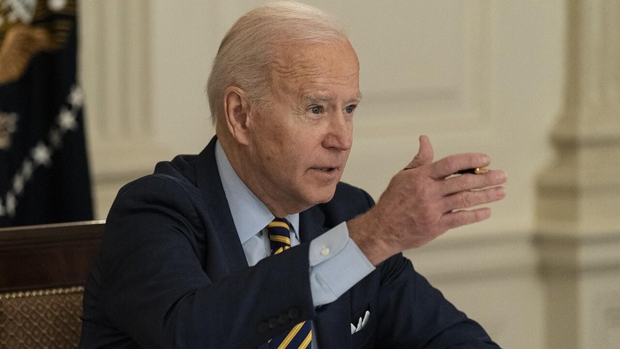FOX Business host Larry Kudlow reacts to Biden saying his $3.5 trillion spending plan will 'cost zero dollars.'