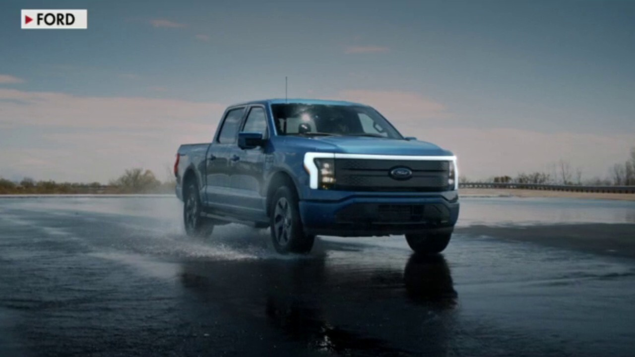 Ford introduces all-electric F-150 truck