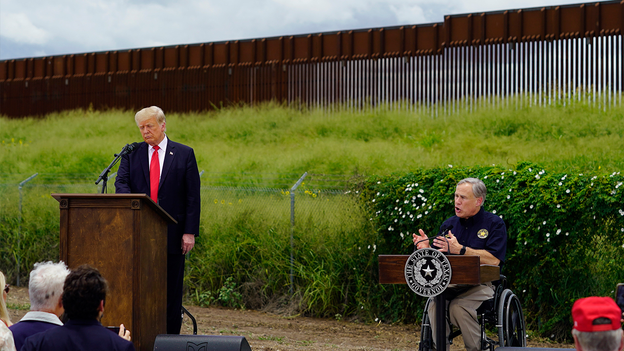 Rep. Lauren Boebert, R-Colo., discusses visiting the border with former President Trump and says what she saw was 'absolutely devastating.'
