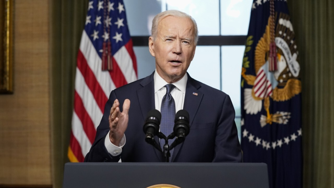 'Mornings with Maria' panel reacts to Biden cutting off press questions again
