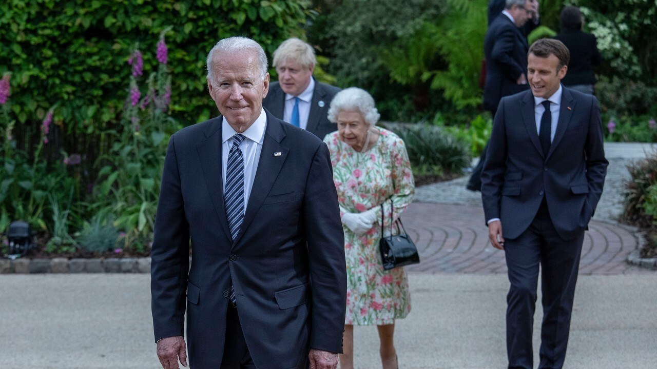 Monica Crowley: What we saw from Biden at G-7 was 'surrender'